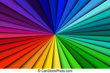 Colorful abstract background, bright patternwith spectrum lines, simple vector illustration