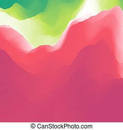 Colorful Abstract Background. Design Template