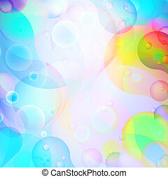 Colorful abstract background. + EPS10