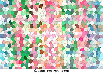 Colorful abstract background pattern.