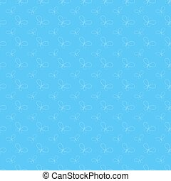 Colorful abstract background with butterflies silhouettes. Simple flat vector illustration.