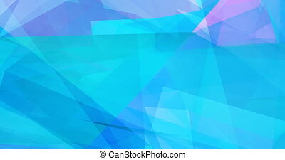 Colorful Abstract Background with Crystal Facets Concept
