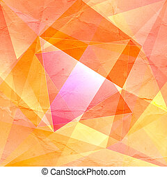 colorful abstract background with triangles geometry graphic