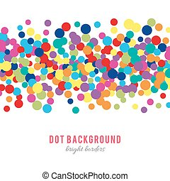 Colorful abstract dot background