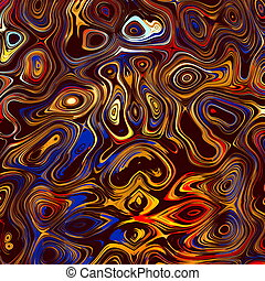 Colorful Abstract Face Background.