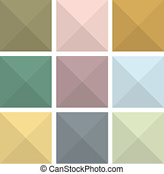 Colorful abstract flat icon backgrounds