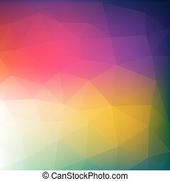 Colorful abstract geometric backgro