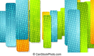 Colorful abstract grunge stripes video animation - Colorful...