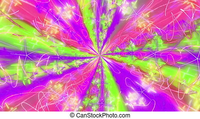 """Colorful Abstract kaleidoscope texture animation"" -..."