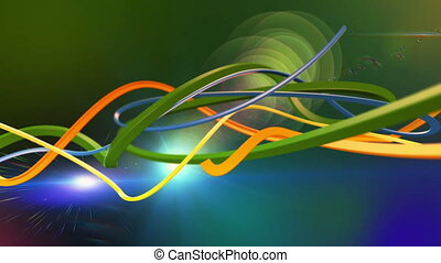 Colorful Abstract Lines