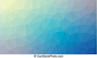 Colorful abstract low poly background.