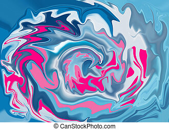 Colorful, abstract, marble background