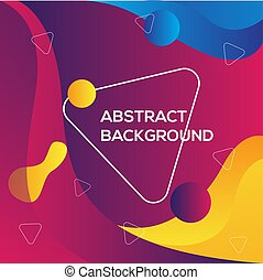 Colorful Abstract modern background template