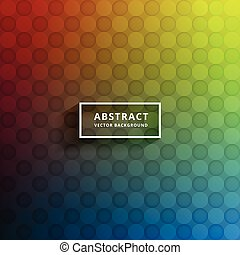 colorful abstract pattern background design