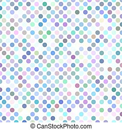 Colorful abstract polka dot pattern design