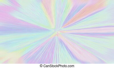 Colorful abstract pulsating beams, stylized streaks....