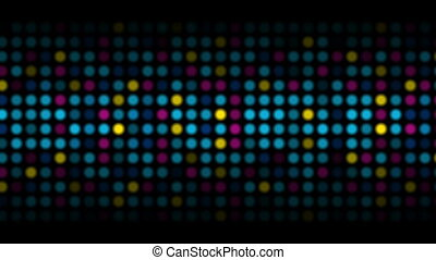 Colorful abstract shiny light circles video animation -...