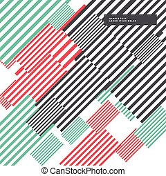 colorful abstract stripes background modern design