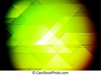 Colorful abstract tech geometric background