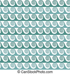 Colorful abstract waves seamless pattern