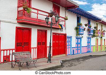 Colorful Architecture in Salento - Colorful colonial ...