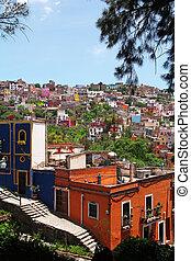 colorful architecture of Guanajuato, Mexico