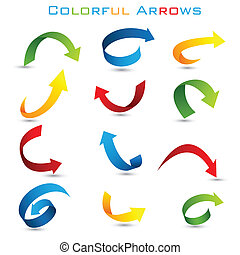 Colorful Arrow