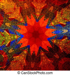 Colorful art illustration.