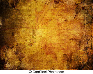 Colorful autumn leaves texture
