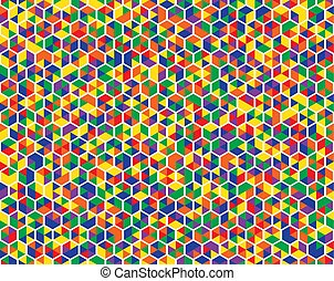 Colorful background abstract seamless pattern