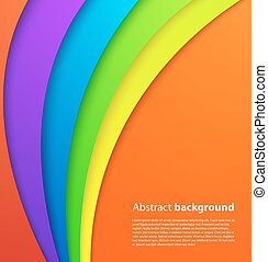 Colorful background with shadow. Vector background