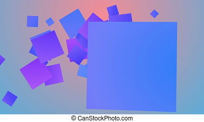 """""""Colorful background from entertaining squares"""""""