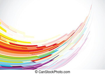 Colorful Background - illustration of colorful stripe on ...