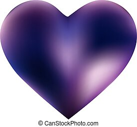 Colorful background in the form of a heart.