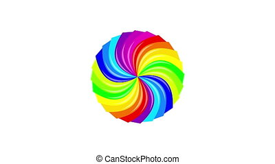 Colorful background rainbow