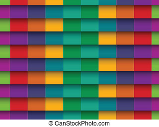 Colorful Background with horizontal lines