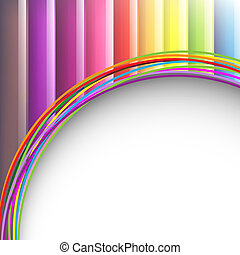 Colorful Background With Paper