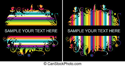 Colorful background with place for your text