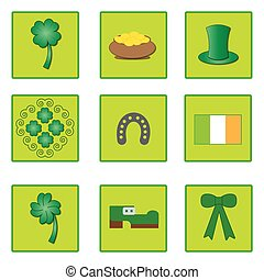 symbols for St. Patrick's day