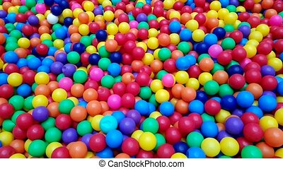 Colorful balls (ball, pool, park)