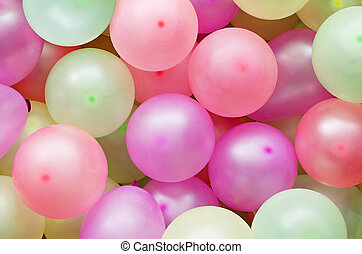 Colorful baloons for background