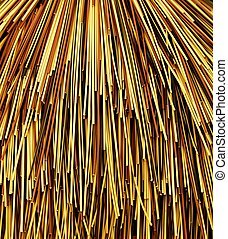 Colorful Bamboo Cane Background