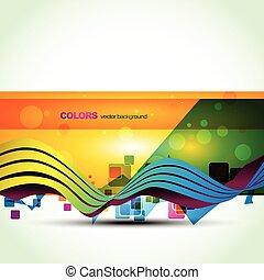 colorful banner vector design