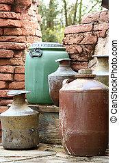 Colorful Barrels