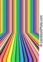 Colorful bars Illustration