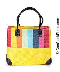 Colorful beach bag