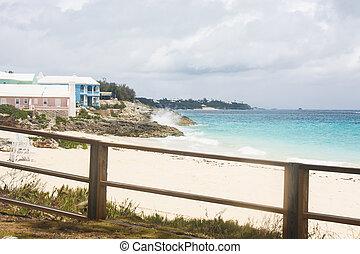 Colorful Beach Properties on Bermuda