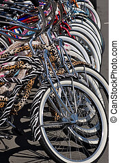 Colorful Bicycles 1