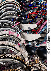 Colorful Bicycles 2