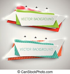 Colorful billboard for advertising, vector